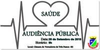 Audiência Pública - Prestação de Contas da Gestão da Saúde
