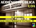 Audiência Pública - LOA 2018
