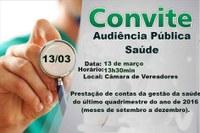 Audiência Pública Saúde