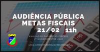 AUDIÊNCIA PÚBLICAS – METAS FISCAIS