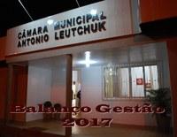 Balanço  Gestão 2017