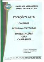 Cartilha Minirreforma Eleitoral