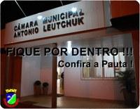 CONFIRA A PAUTA PARA A PRÓXIMA SESSÃO ORDINÁRIA