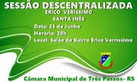 PARTICIPE HOJE DA SESSÃO DESCENTRALIZADA