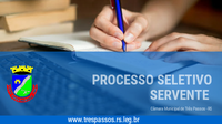 CLASSIFICAÇAO FINAL DO PROCESSO SELETIVO DE SERVENTE