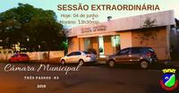 PROJETO DE CONTRATAÇÃO EMERGENCIAL DE DOIS ENFERMEIROS SERÁ VOTADO EM SESSÃO EXTRAORDINÁRIA HOJE