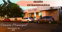 REAJUSTE SALARIAL DOS SERVIDORES MUNICIPAIS SERÁ LIDO EM SESSÃO EXTRAORDINÁRIA