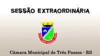 REUNIÃO COMISSÕES E SESSÃO EXTRAORDINÁRIA