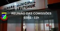 REUNIÃO COMISSÕES PERMANENTES