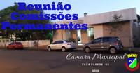 REUNIÃO DAS COMISSÕES PERMANENTES SERÁ REALIZADA  NA SEXTA-FEIRA