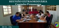 Reunião Extraordinária das Comissões Permanentes