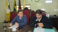 Vereador Paulo Zügel assume a presidência da Câmara de Três Passos